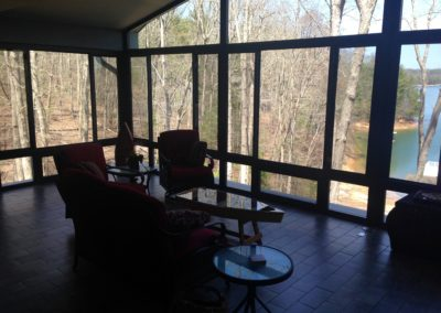 Patio Enclosure Interior CRS Windows
